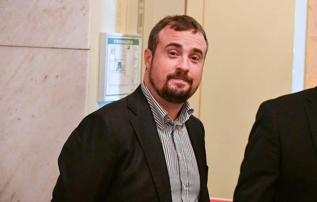Oppositionsråd Magnus Olsson (SD).