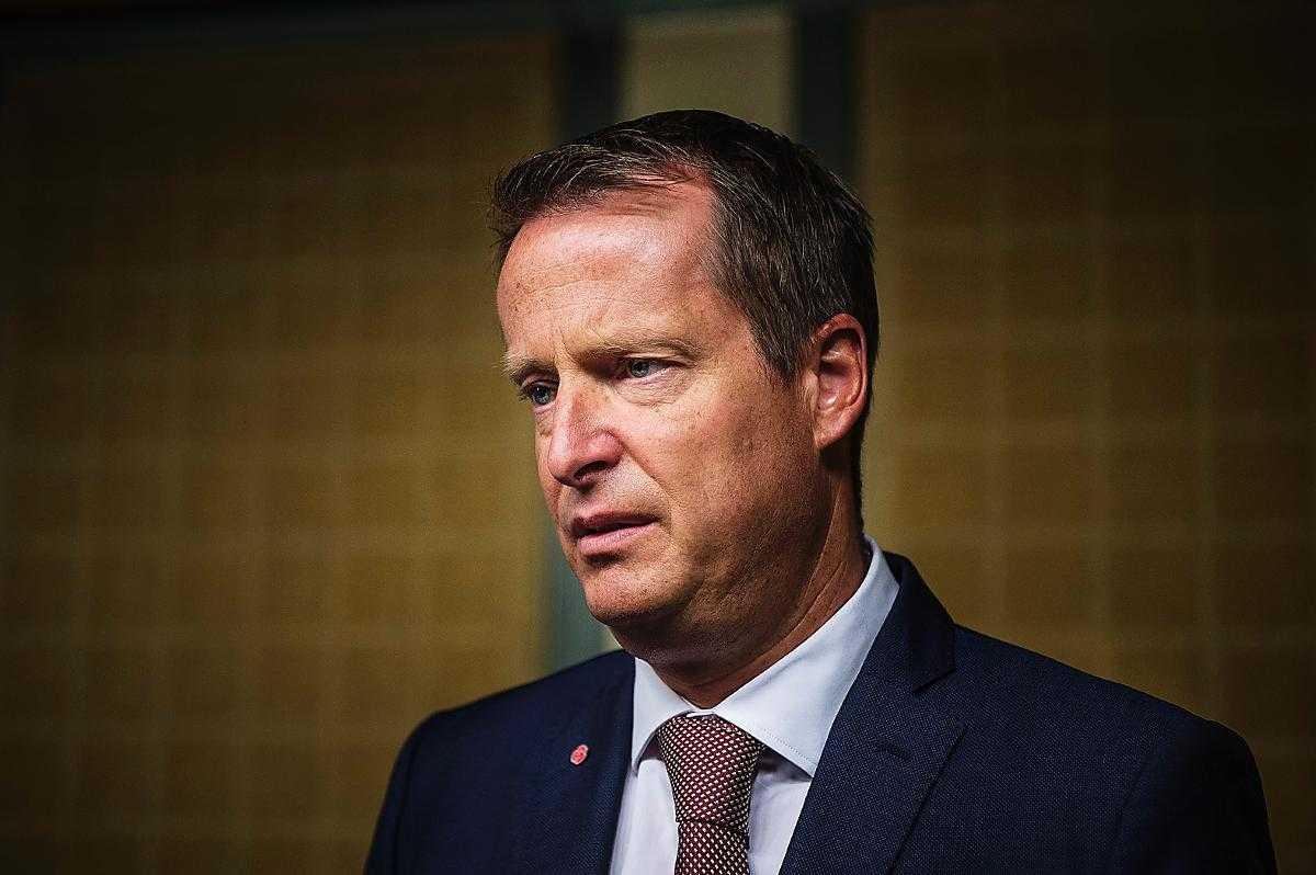 Anders Ygeman (S) inrikesminister.
