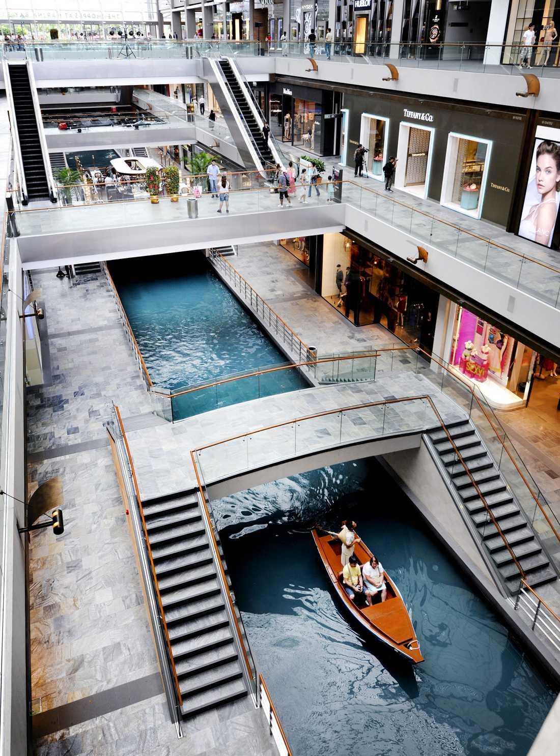 Inspirationen kommer bland annat från lyxhotellet Marina Sands Bay i Singapore.