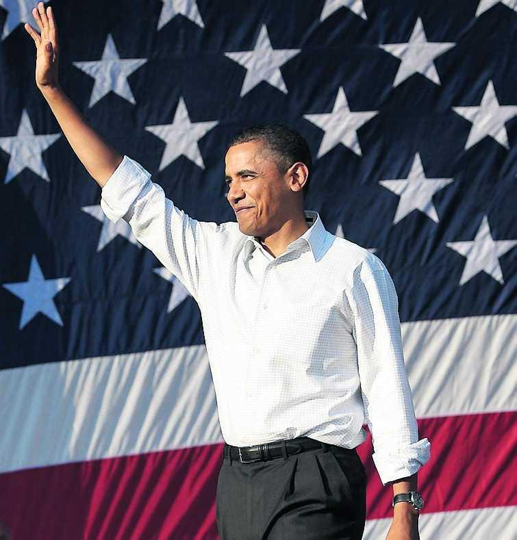 tuff kampanj Under mellanårsvalet i USA slåss Barack Obama om att behålla makten i kongressen.