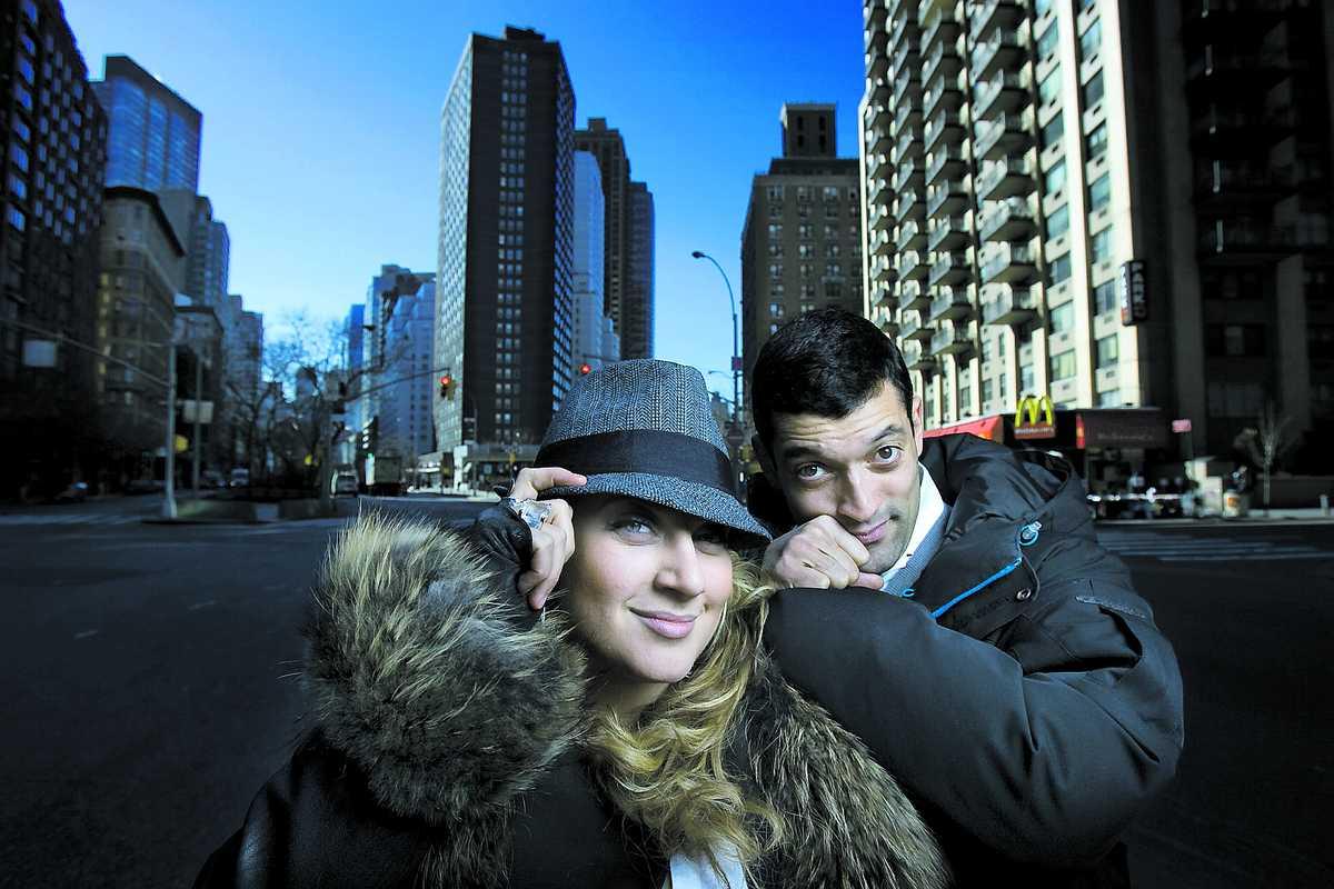 """""""Våra icke-svenska sidor blomstrar i New York"""", säger Sarah Dawn Finer som är på inspirationsresa i det stora äpplet med brorsan Rennie."""