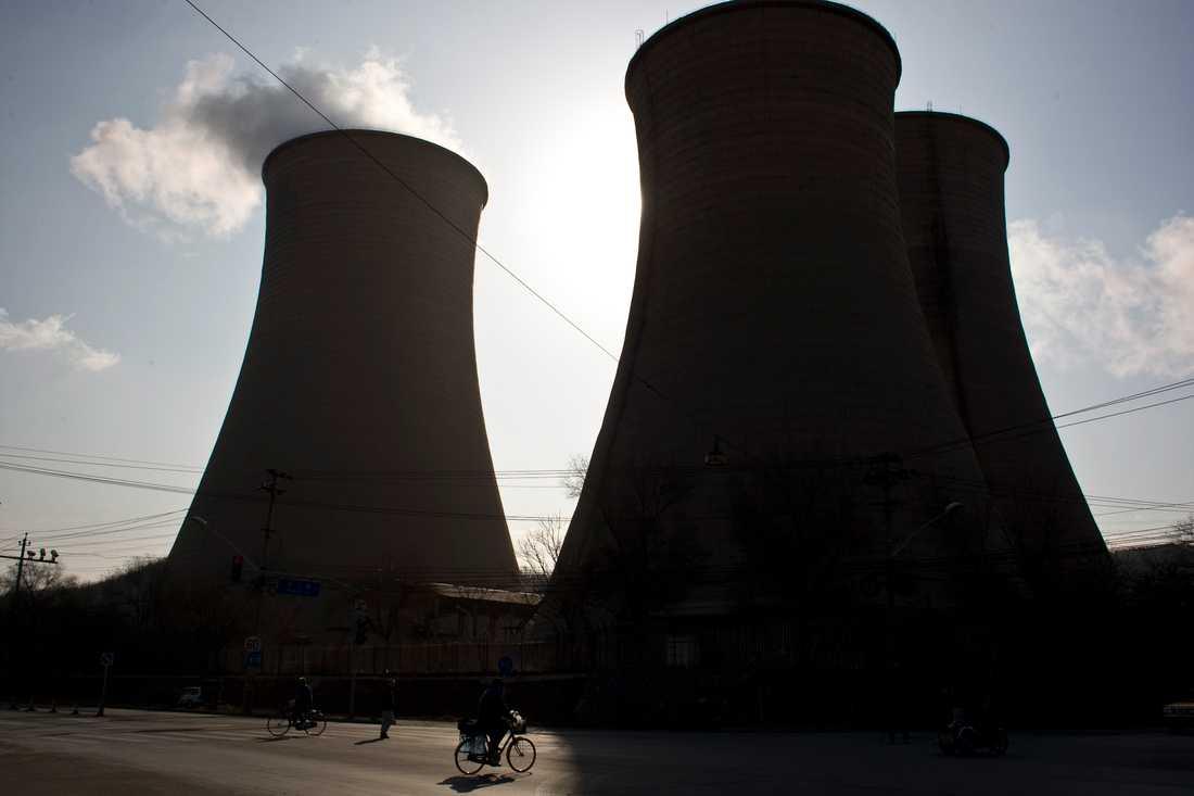 Kolkraftverk skapar både hälsofarliga luftföroreningar och utsläpp av växthusgaser. Arkivbild.