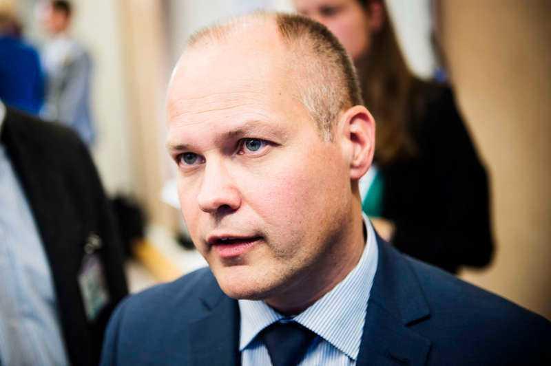 Morgan Johansson, migrationsminister.