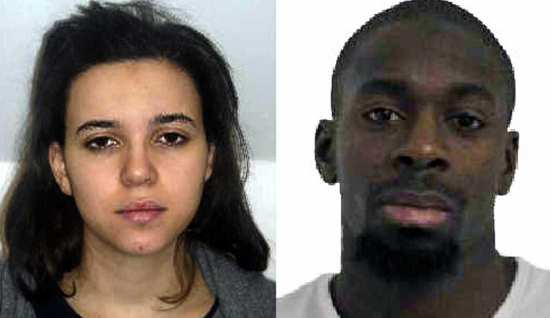 Fransk polis letar efter Amedy Coulibalys flickvän, Hayat Boumeddiene.
