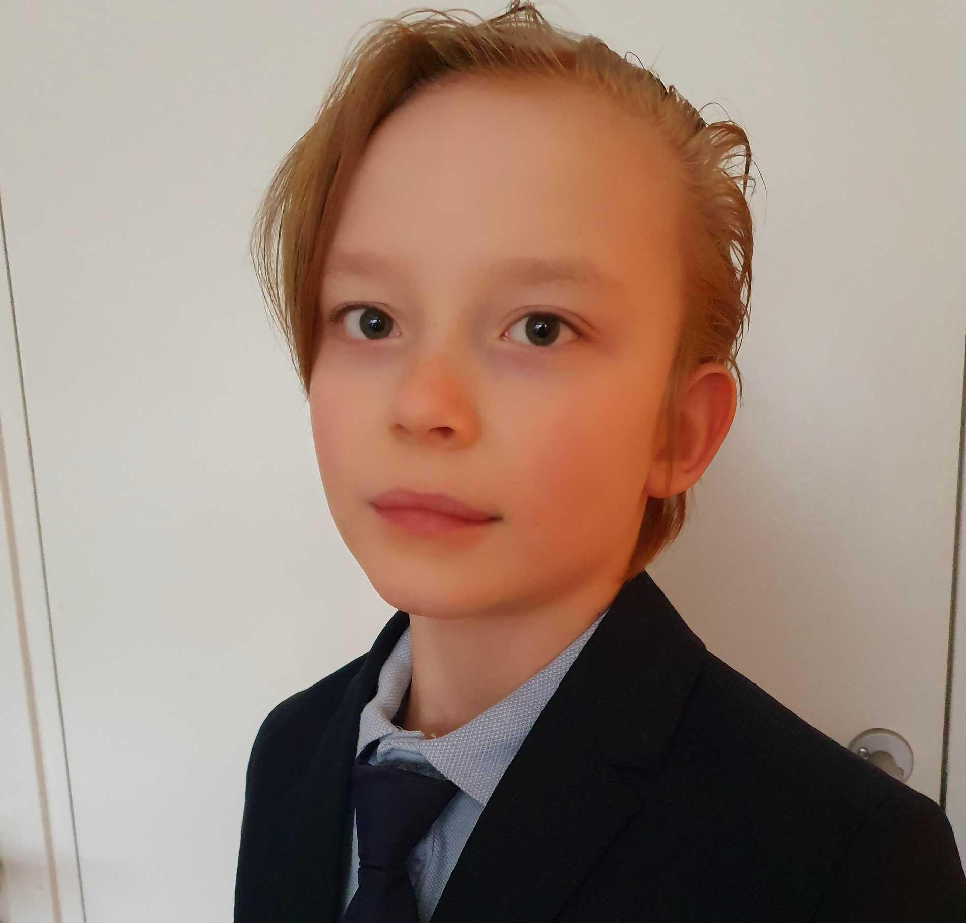 Melvin är nio år och i grunden fullt frisk, nyligen blev han väldigt sjuk i covid-19.