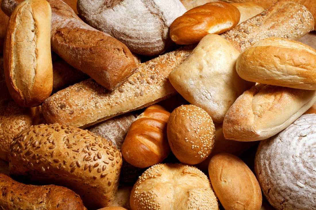 Bröd innehåller stora mängder socker - i form av sirap, glukos samt rent socker.