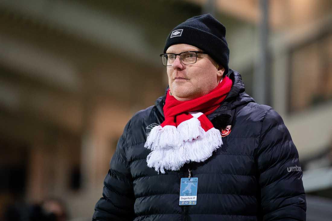 Degerfors sportchef Patrik Werner