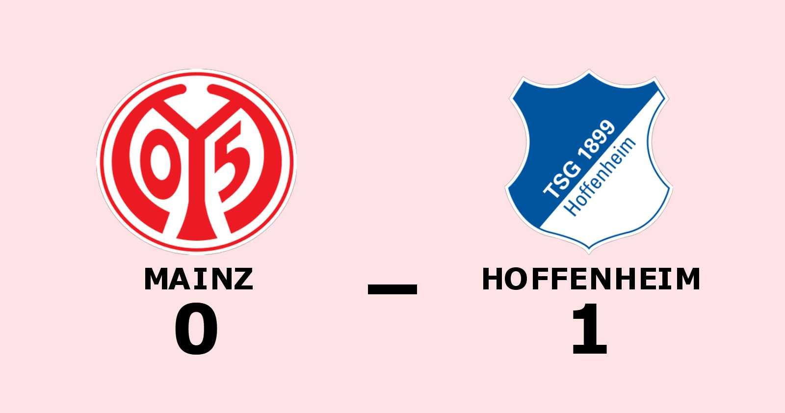 1-0-seger för Hoffenheim mot Mainz - Ihlas Bebou matchhjälte