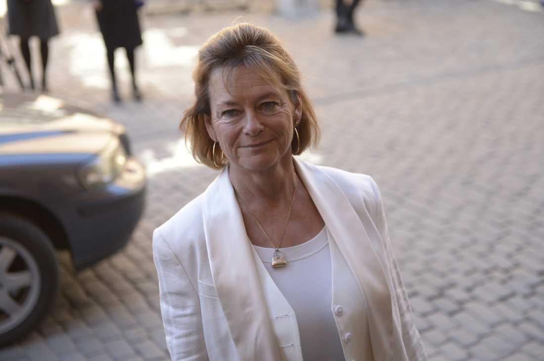 Förre kulturministern Lena Adelsohn Liljeroth.