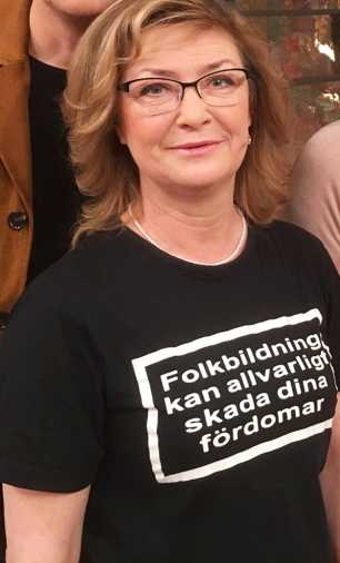 Stina Näslund, Sollefteåbo.