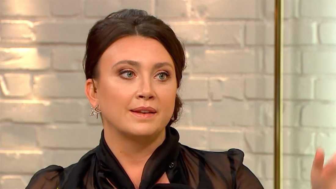 Camilla Läckberg i Nyhetsmorgon.