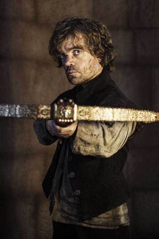 "Dinklage som Tyrion Lannister i ""Game of thrones""."