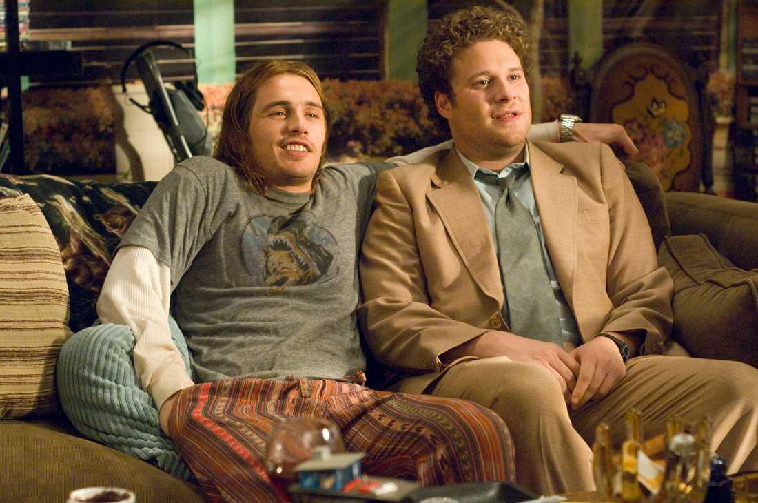 """James Franco och Seth Rogen i """"Pineapple Express"""""""
