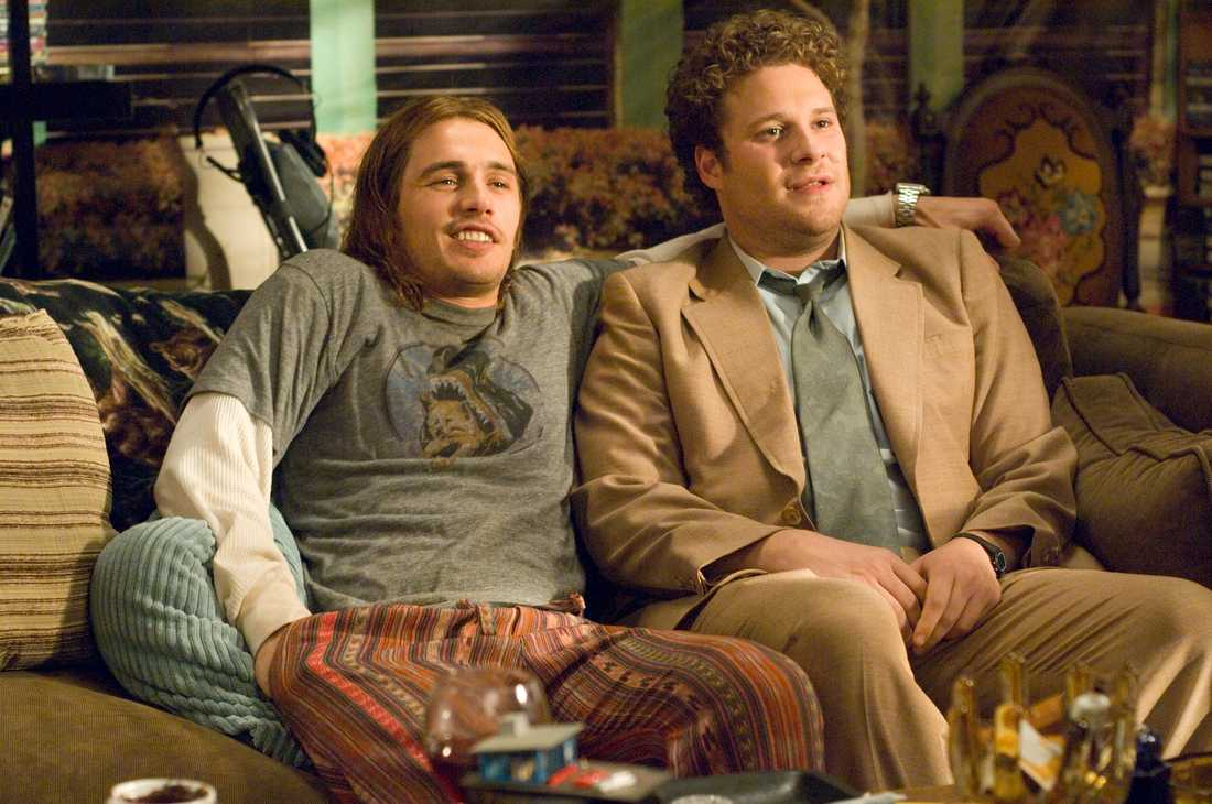 "James Franco och Seth Rogen i ""Pineapple Express"""