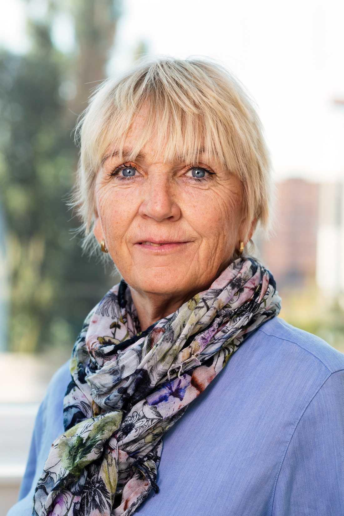 """""""Vårt uppdrag är beskattning, inte att hålla koll på efterlysta"""", säger Pia Bergman, nationell samordnare mot grov ekonomisk brottslighet på Skatteverket."""