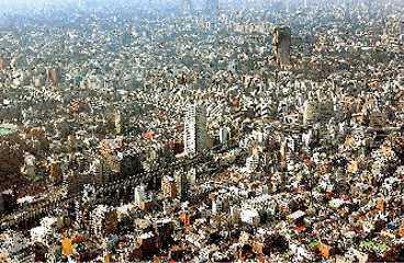 Tokyo i topp. Här bor 34 miljoner.