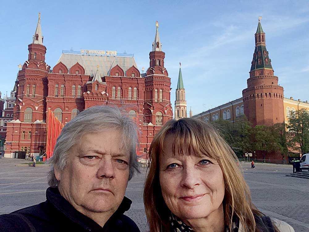 Aftonbladets Urban Andersson och Kerstin Weigl på plats i Moskva.