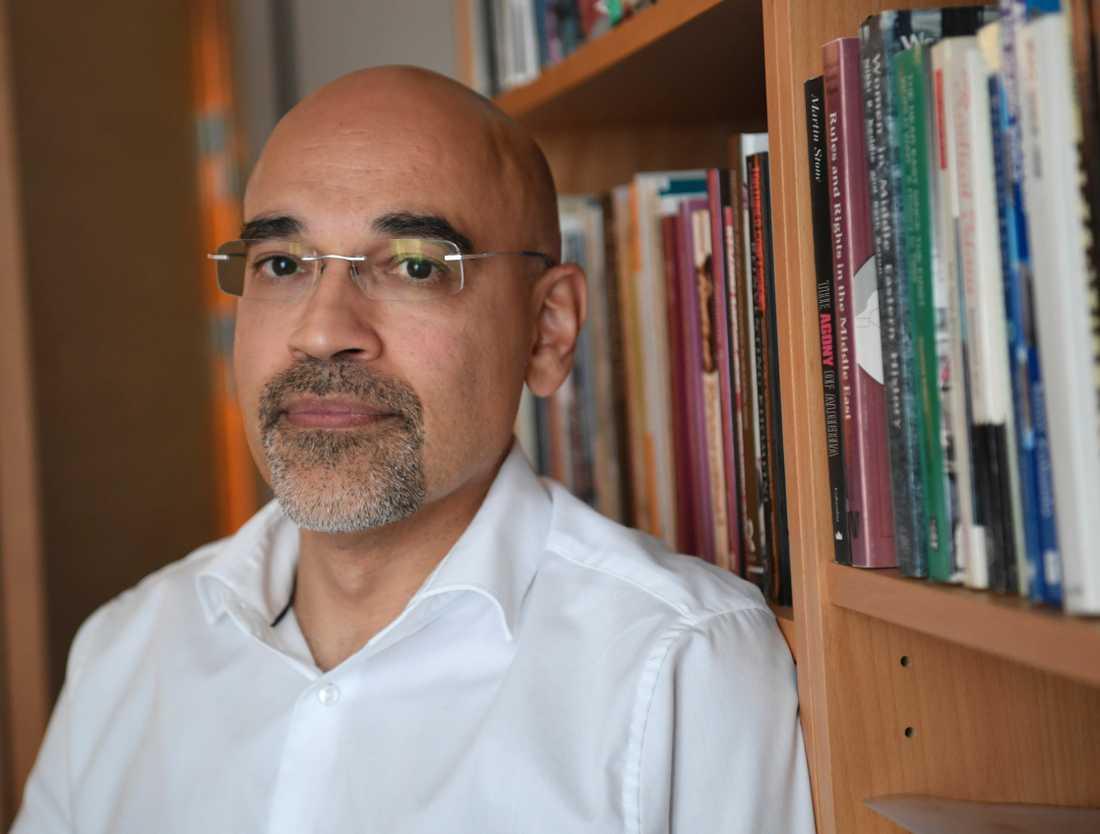 Rouzbeh Parsi, programchef vid Utrikespolitiska institutet. Arkivbild.