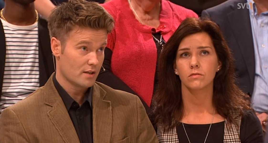 Thomas och Jennie i SVT:s Debatt.