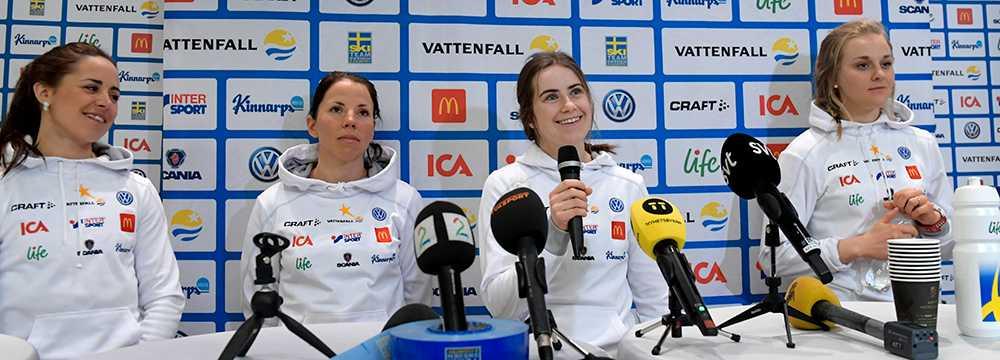 Det svenska laget presenteras på tisdagen. Skrällen: Ebba Andersson