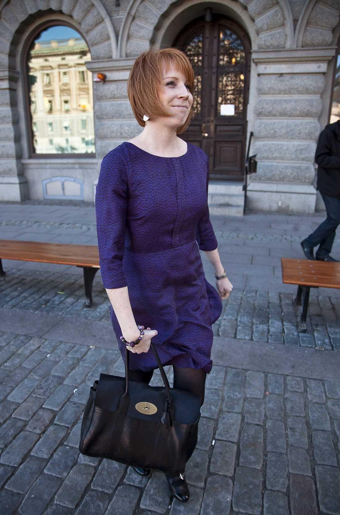 partiets favorit Annie Johansson, 27, är partiets favorit till att efterträda Maud Olofsson. Hon kom in i riksdagen som 23-åring. Förra mandatperioden satt hon i Konstitutionsutskottet.