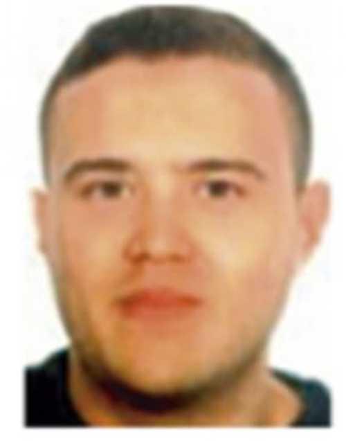 Mohamed Hycham, sköts ihjäl i Cambrils.