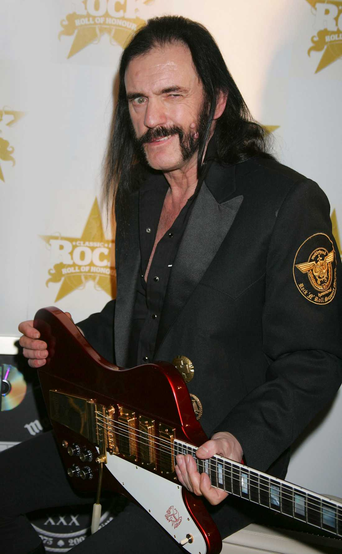 Lemmy Kilminster i London 2005.
