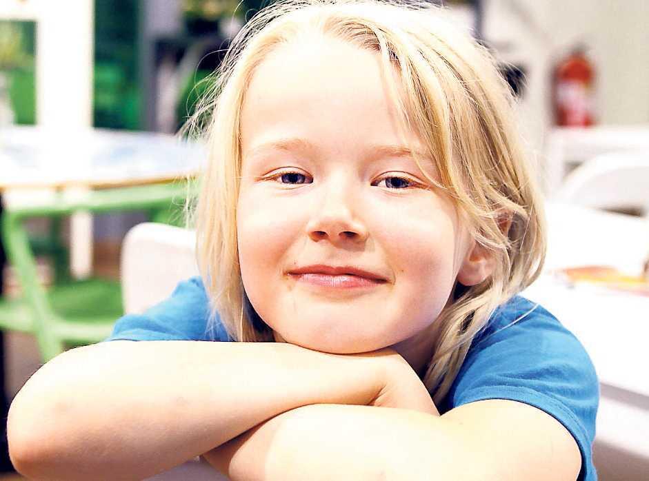 Tove Henriksson, 7, studerande, Stockholm: – Att man har kompisar. Och jag har redan fått hälsa på i skolan där jag ska snart börja. Det tycker jag är bra.