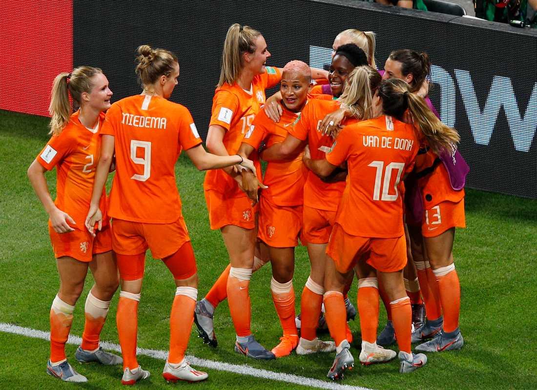 Nederländerna är klart för EM i England 2022. Arkivbild.