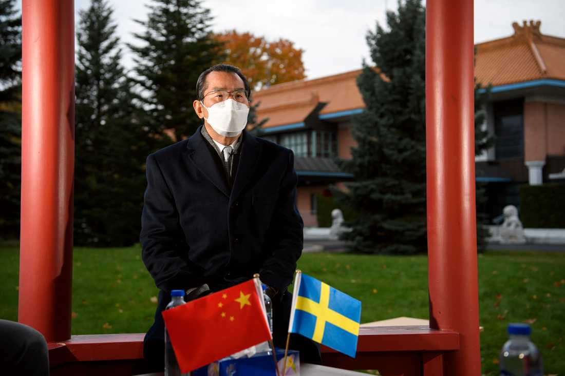 Gui Congyou är Kinas ambassadör i Sverige. Arkivbild.