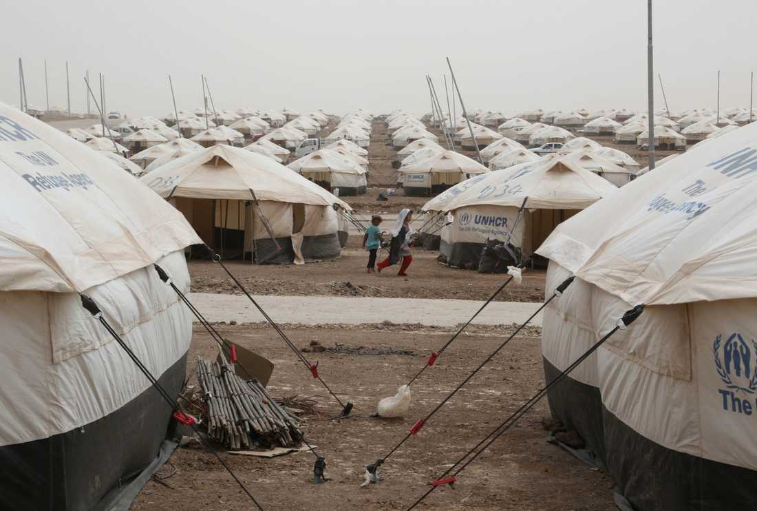 En kvotflykting är en person som är särskilt utvald av FN:s flyktingorgan UNHCR för att flytta till ett annat land. Arkivbild.