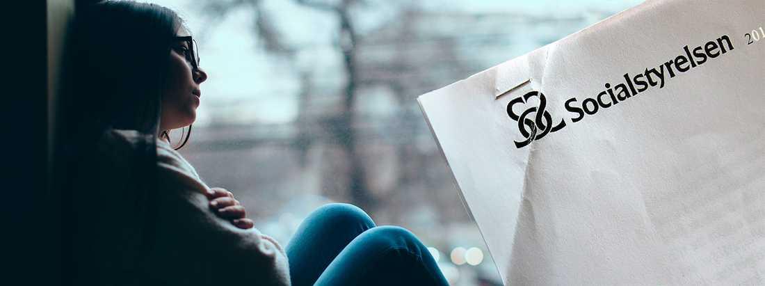 Genrebild, kvinnorna i artikeln har sin identitet skyddade av grundlagen om meddelarfrihet.