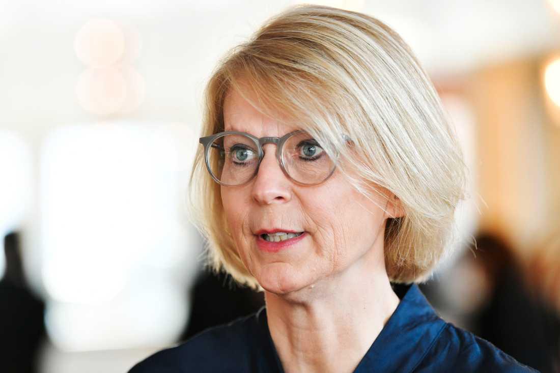 Elisabeth Svantesson, Moderaternas ekonomisk politiska talesperson. Arkivbild.