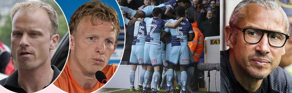 Bergkamp , Kuyt och Larsson vill köpa engelsk fotbollsklubb.