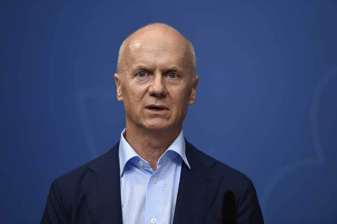 Pensionsmyndighetens generaldirektör Daniel Barr ifrågasätter fondsparande efter Allradomen. Arkivbild