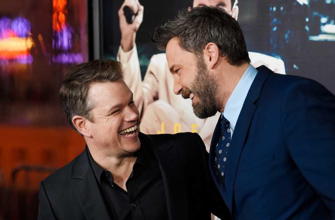 Ben Affleck och Matt Damon. Arkivbild.