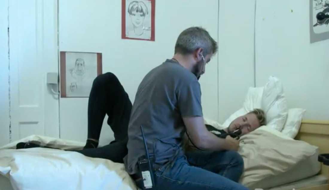 """Viktor Frisk i """"Fångarna på fortet""""."""
