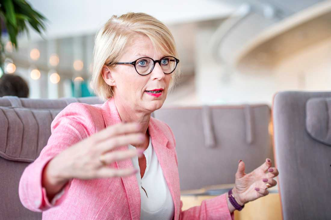 Elisabeth Svantesson (M), ekonomiskpolitisk talesperson.