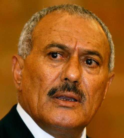 Jemens president Ali Abdullah Saleh.