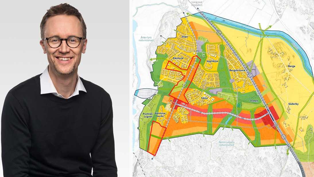 Germund Landqvist är projektledare för det nya projektet, Sydöstra staden.