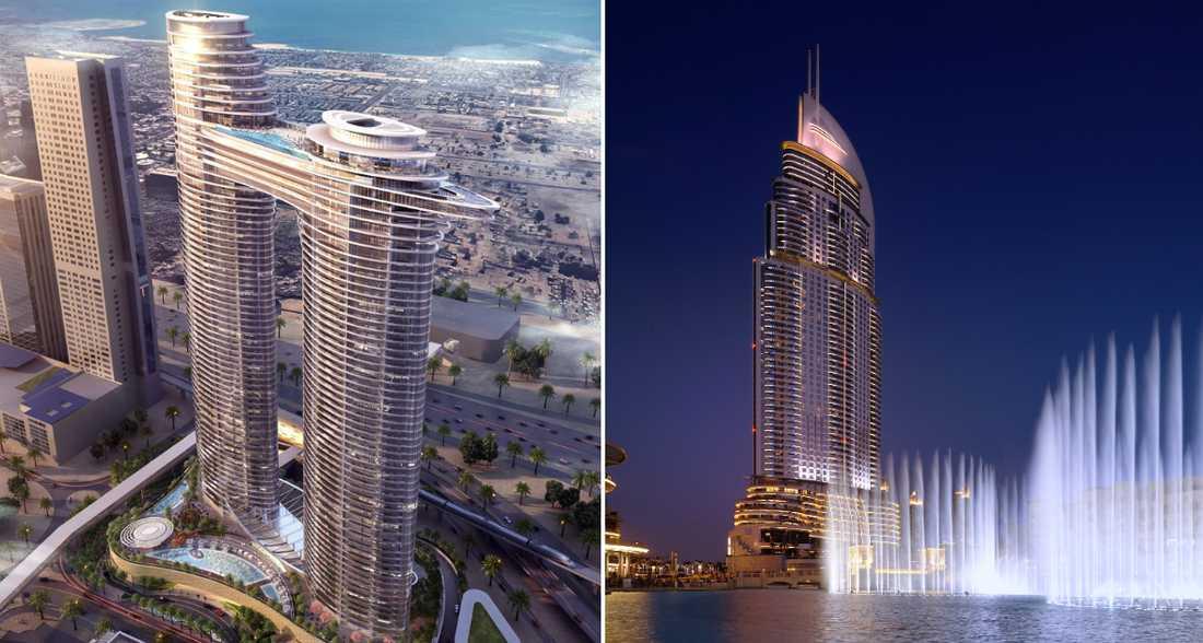 I Dubai har två nya hotell öppnat.