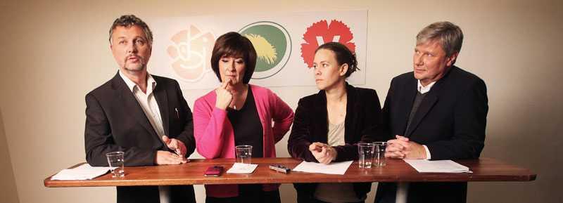 Käbblig bild av oppositionen Den nya alliansen De Rödgröna har inte synts mycket i media på sista tiden – och när de synts har de bråkat.
