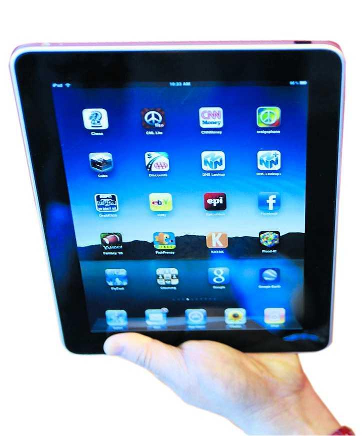 premiär Snart kommer iPad till Sverige.