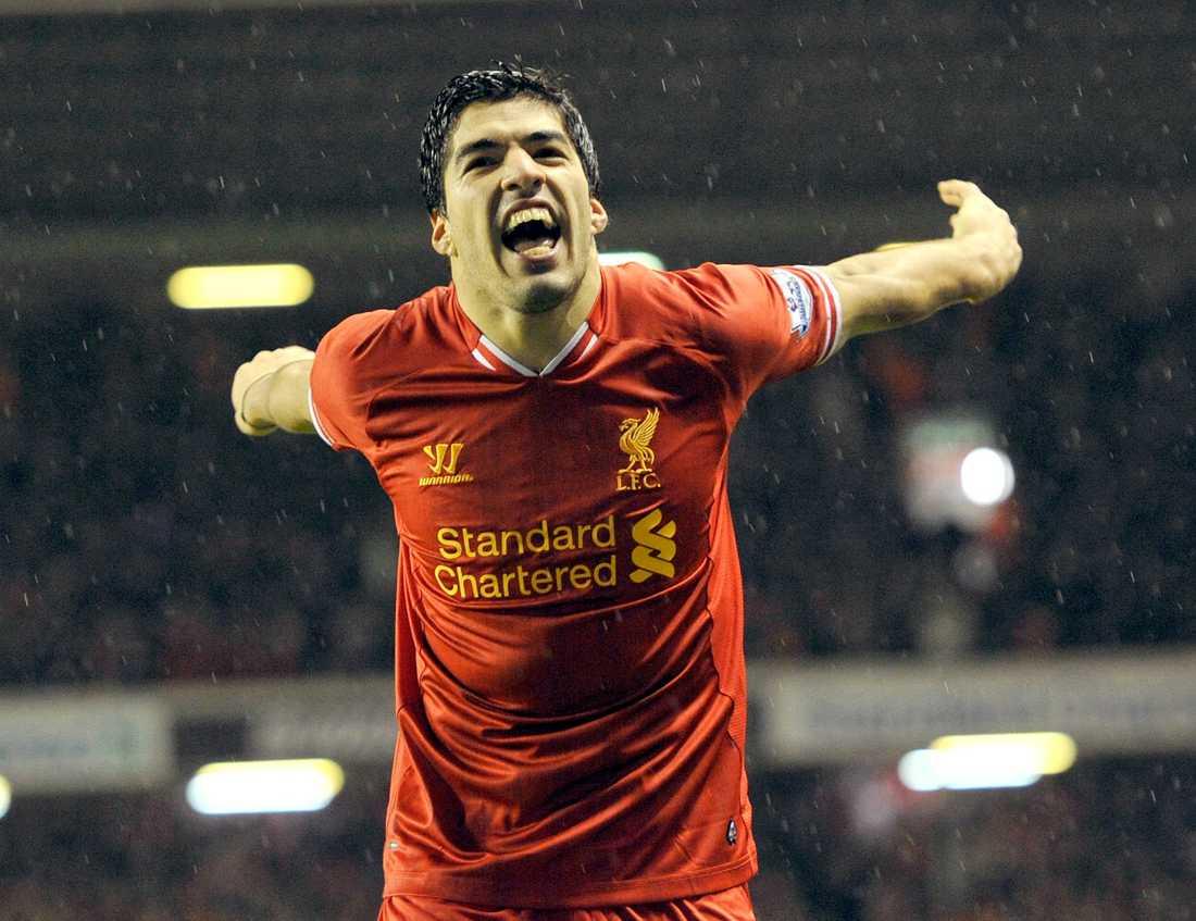 3. Luis Suarez, 27, Uruguay.