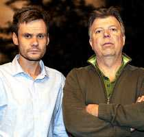 Aftonbladets Jerker Ivarsson och Wolfgang Hansson – på plats i Tunis.