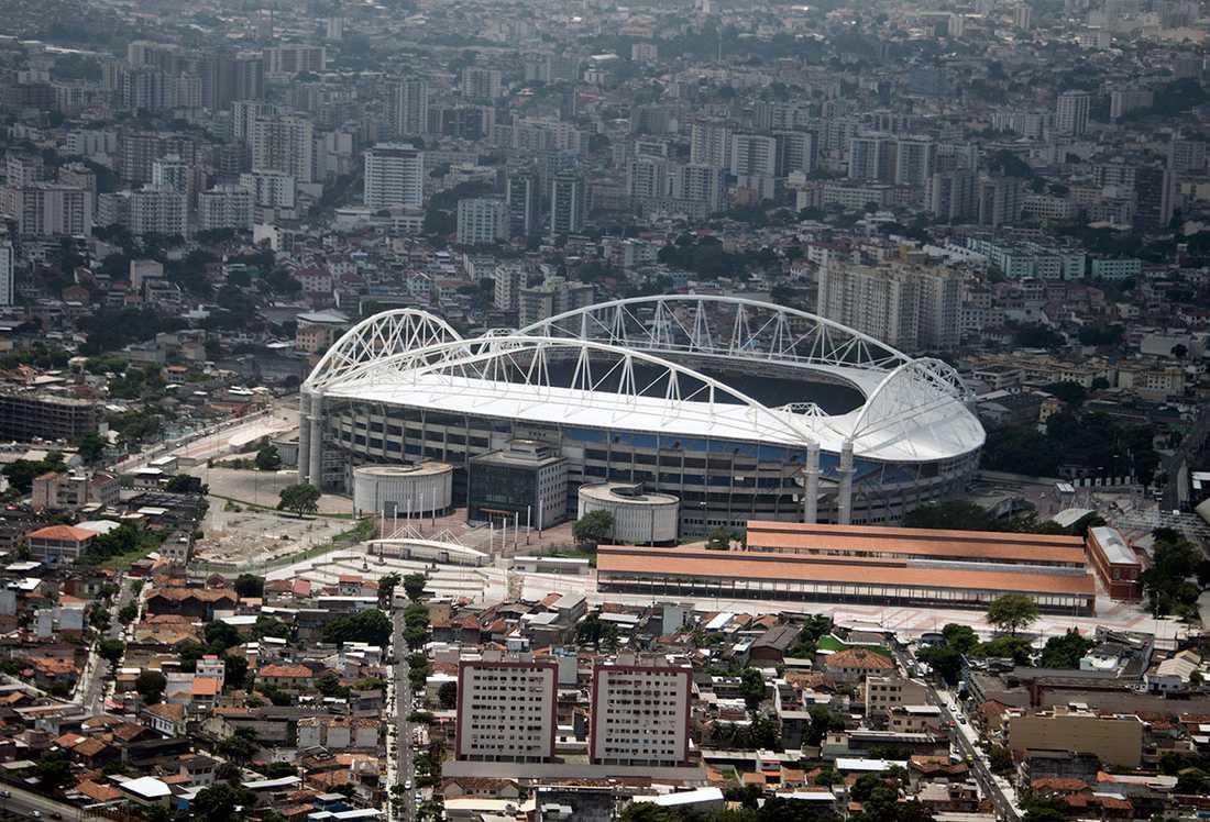 Nilton Santos olympic stadium i Rio de Janeiro.