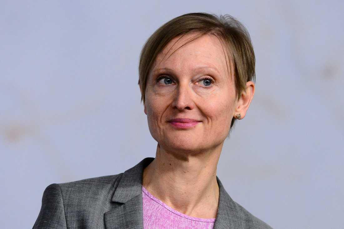 Tillväxtverkets nya generaldirektör Gunilla Nordlöf.