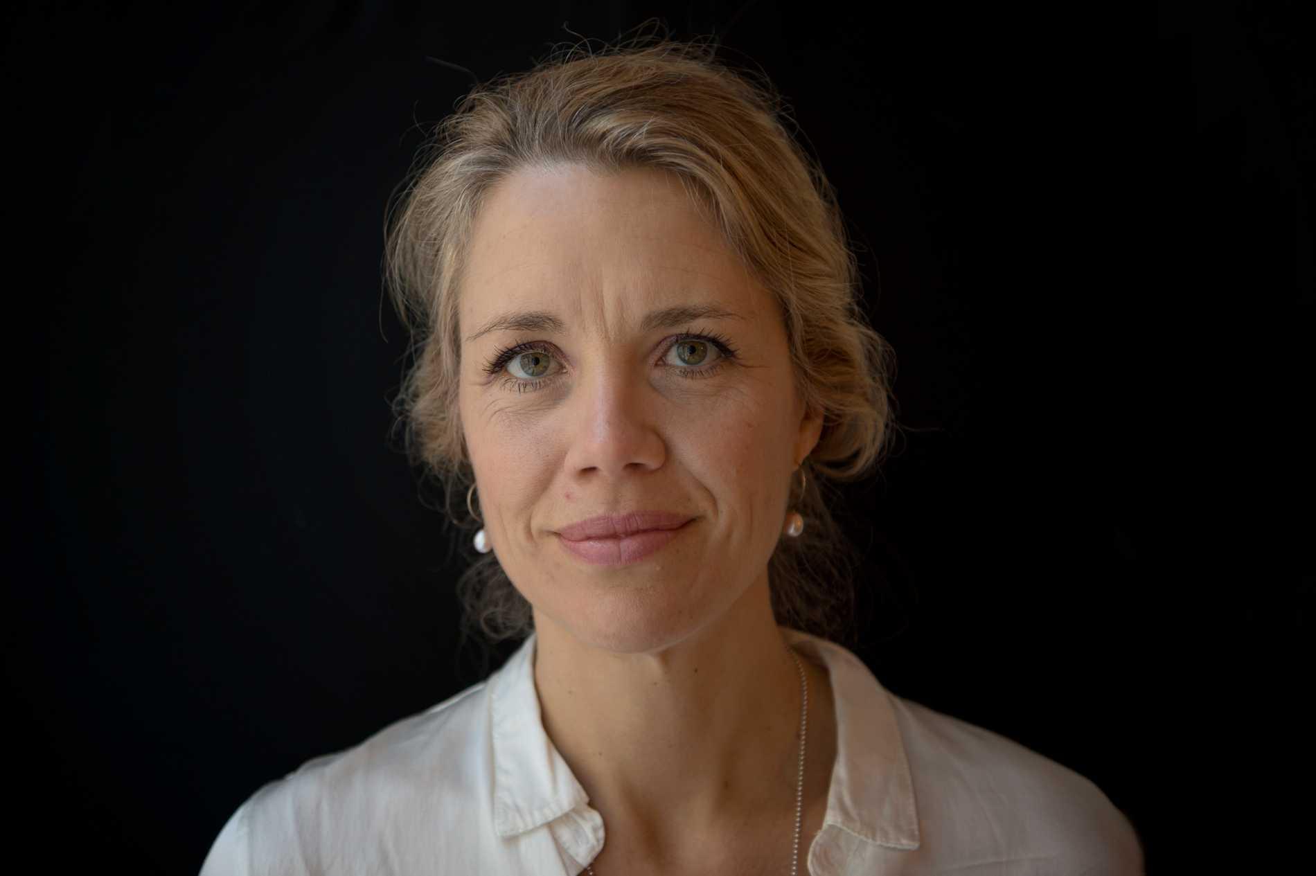 Mia Ahlberg, barnmorska, forskare, omvårdnadsansvarig på Karolinska universitetsjukhuset
