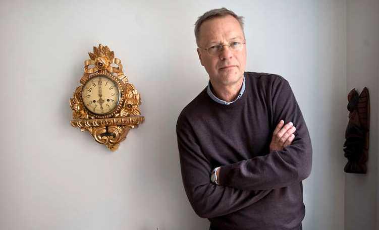 Svante Weyler, ordförande för Svenska kommittén mot antisemitism.