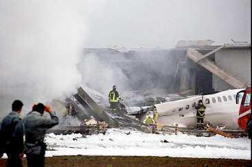 I S veriges och Italiens största flygolycka dog 118 personer.